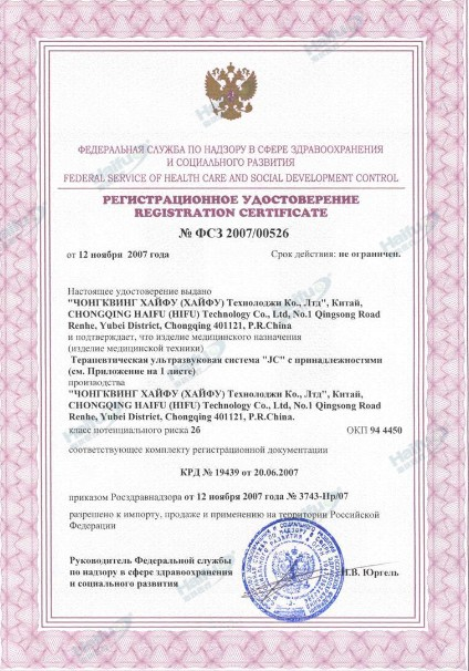 Market Licence of Russia